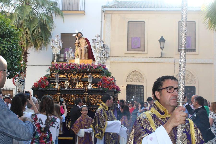 Procesión histórica en la ciudad