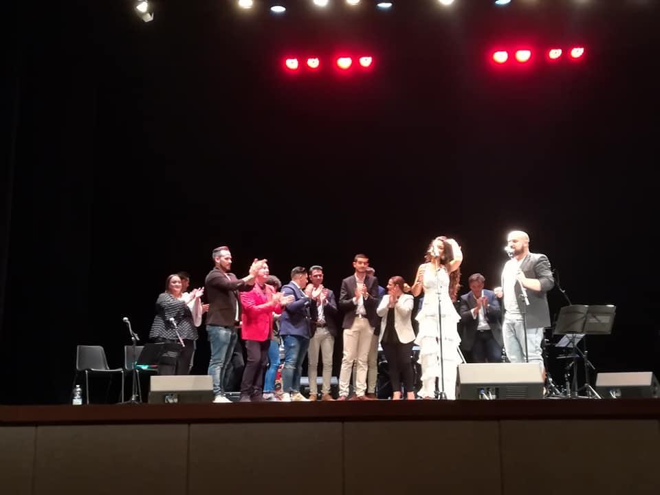 Imaculada Vilchez presentó en el Teatro su disco 'Cambio de tercio'