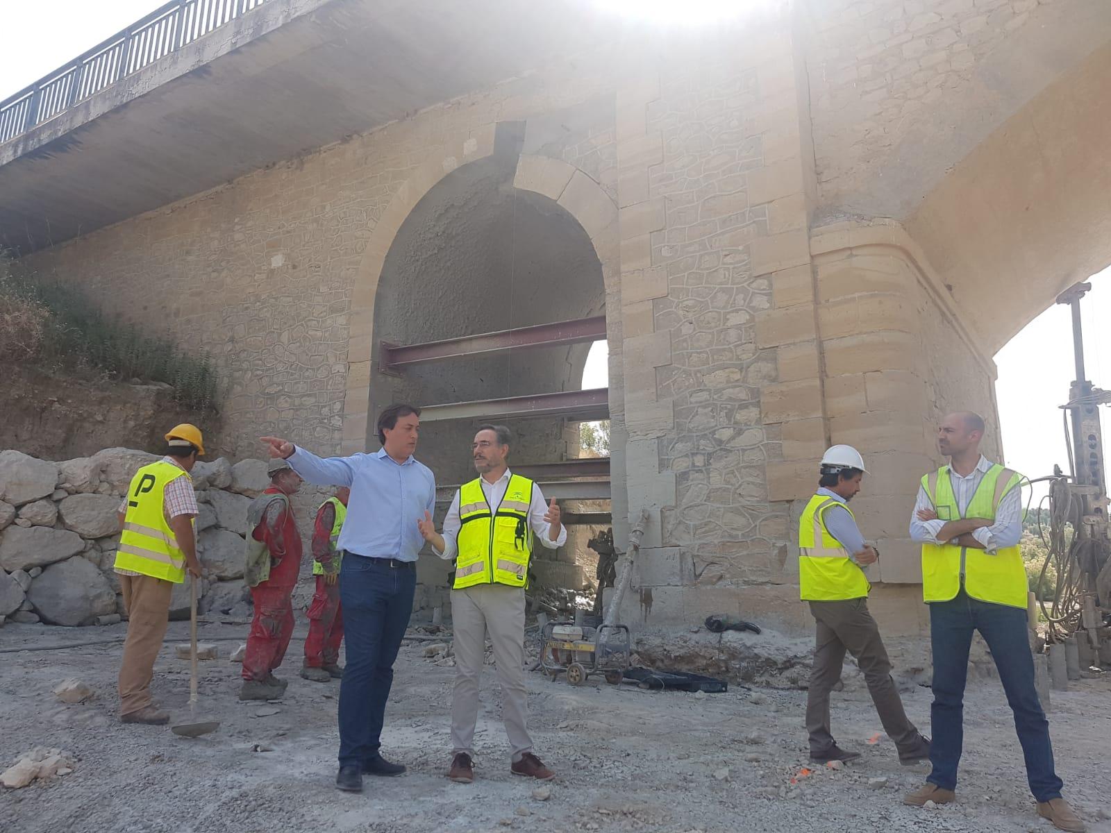 La Junta destina 1,8 millones de euros a la ejecución de obras de emergencia en carreteras de la provincia y la comarca
