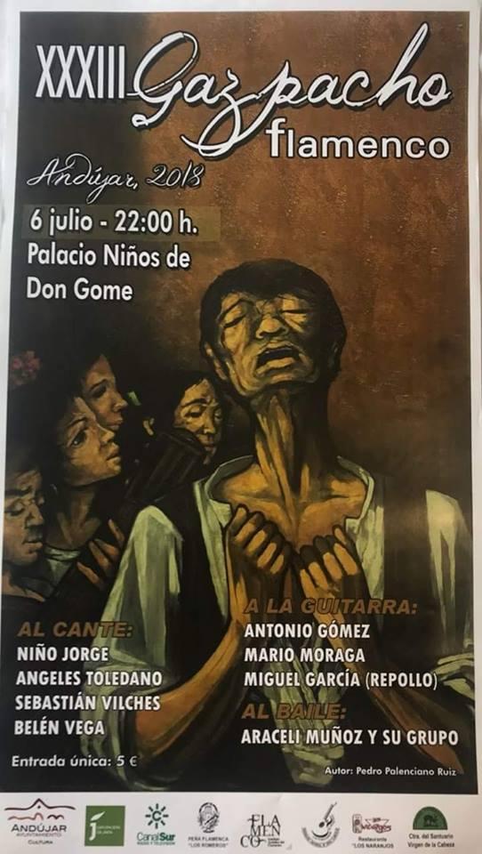 Este viernes por la noche se celebra en Don Gome el XXXIII 'Gazpacho Flamenco'