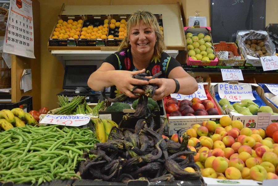 La berenjena, el producto estrella de la gastronomía local, ya está en los mercados