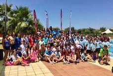 Andújar acoge la primera prueba del Circuito Provincial de Natación Diputación Provincial de Jaén