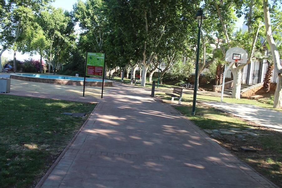 El parque Las Vistillas experimenta varias reformas