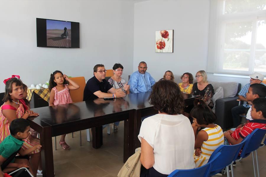 El centro de Aprompsi recibe por séptimo año a niños con minusvalía del Sáhara