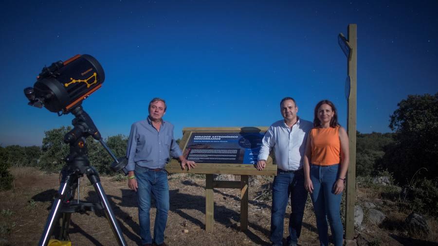 Sierra Morena ya cuenta con su observatorio de las estrellas