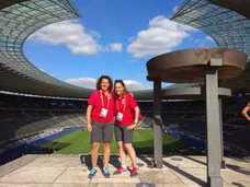 La iliturgitana Ana Peinado forma parte del cuerpo técnico de la Selección Española de Atletismo en el Europeo de Berlín