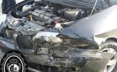 Herida tras un accidente en Andújar en el que el conductor sextuplicaba la tasa de alcohol