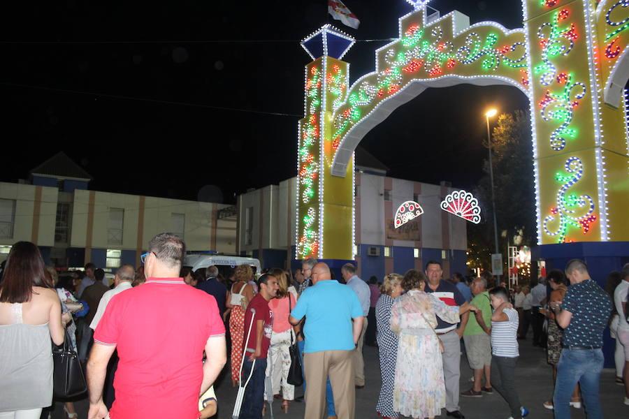 El recinto ferial registra gran intensidad en el primer tramo de las fiestas