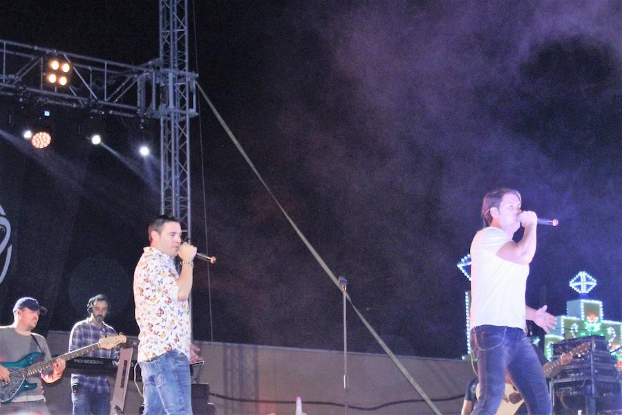 Andy&Lucas 'agitan' la Caseta Municipal con un gran concierto