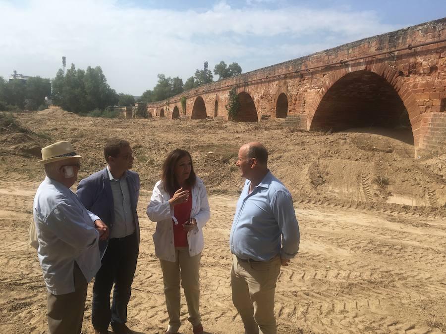 El alcalde de Andújar pide al Gobierno de España un «compromiso real y efectivo» en la solución de las inundaciones