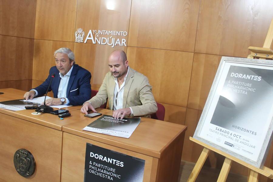 Andújar va a disfrutar este sábado del nuevo trabajo de 'Dorantes'
