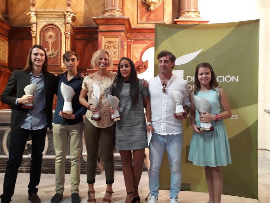 Andújar goza de una notable representación en los premios del II Circuito de Travesías a Nado por los Pantanos de Jaén