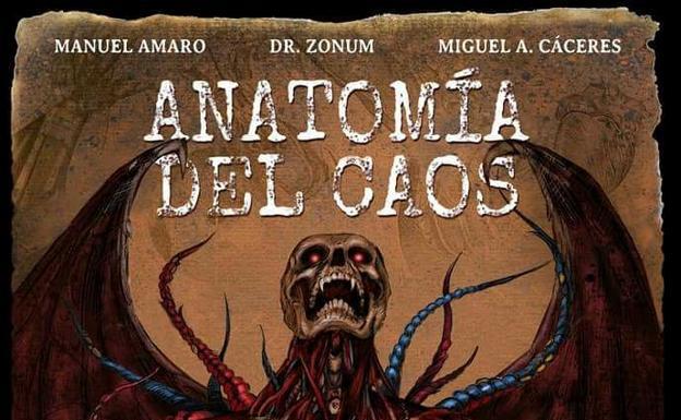 El libro 'Anatomía del Caos' gana el prestigioso premio de novela de terror y fantasía 'Ignotus'