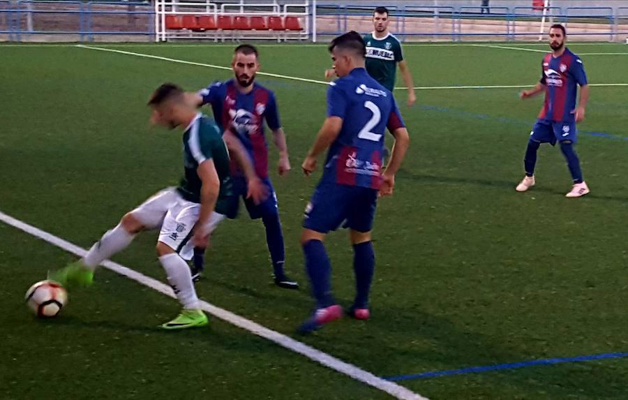 El Iliturgi aplastó al Úbeda en un duelo de históricos del fútbol provincial tras un certera y brillante primera mitad