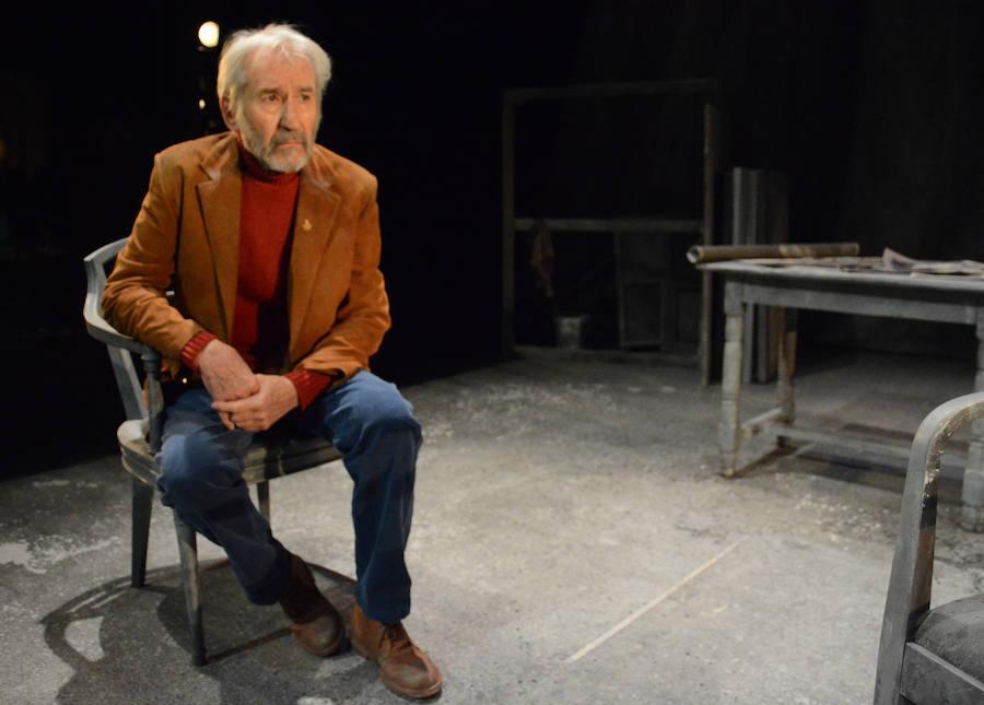 José Sacristán conmueve a los espectadores con su interpretación 'Señora de rojo sobre fondo gris'