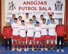La cantera del Andújar Fútbol Sala sigue dando buenas noticias