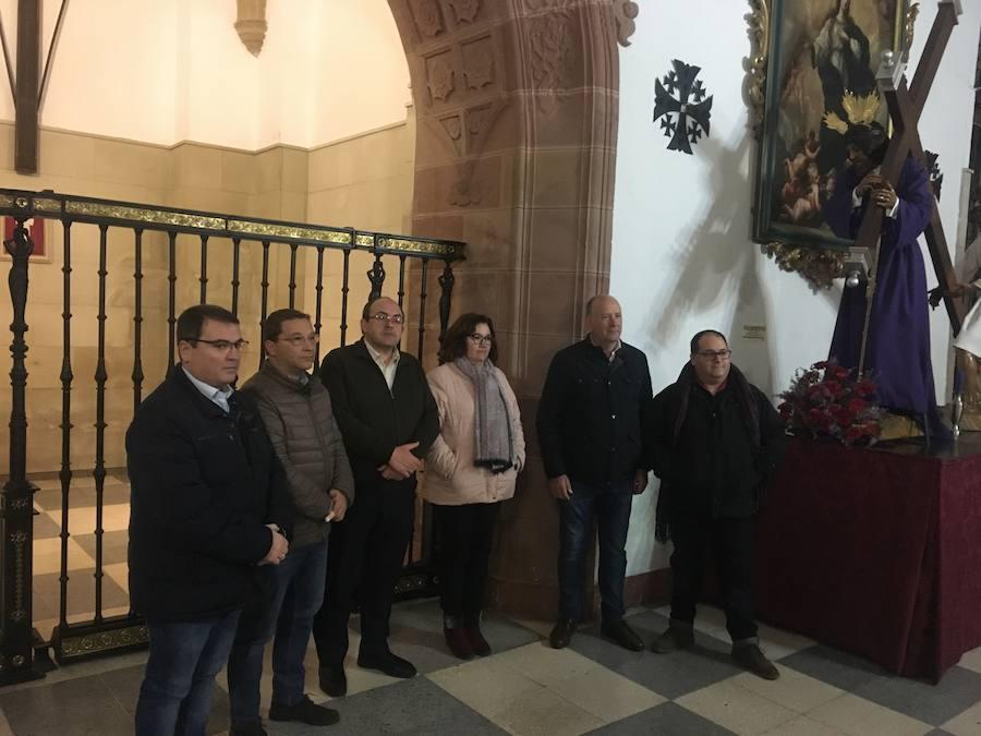 El 'Señor de los Señores' ya posee su reja ornamental en la capilla de San Miguel