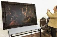 La Asociación Amigos del Patrimonio restaura otro cuadro en San Miguel