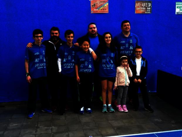 El equipo de tenis de mesa de SAFA Andújar consigue el ascenso a Súper División Andaluza