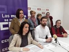 Comisiones Obreras anima la huelga de 8-M para acabar con la desigualdad social
