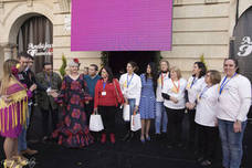 La asociación Pídeme la Luna recauda 1.380 euros en Andújar Flamenca