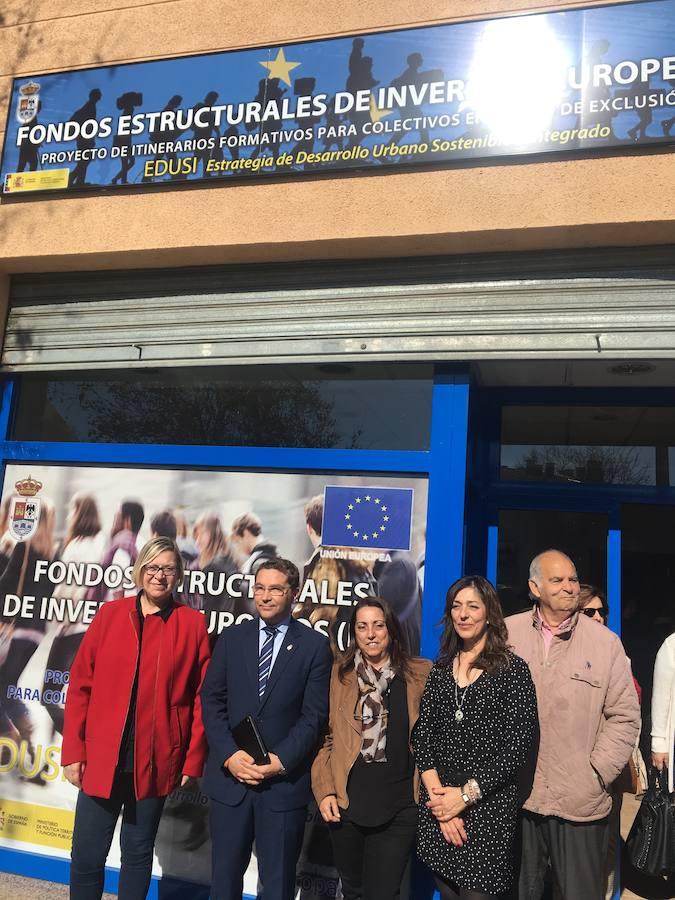 El Ayuntamiento de Andújar inicia una programa de tranformación social en el Polígono