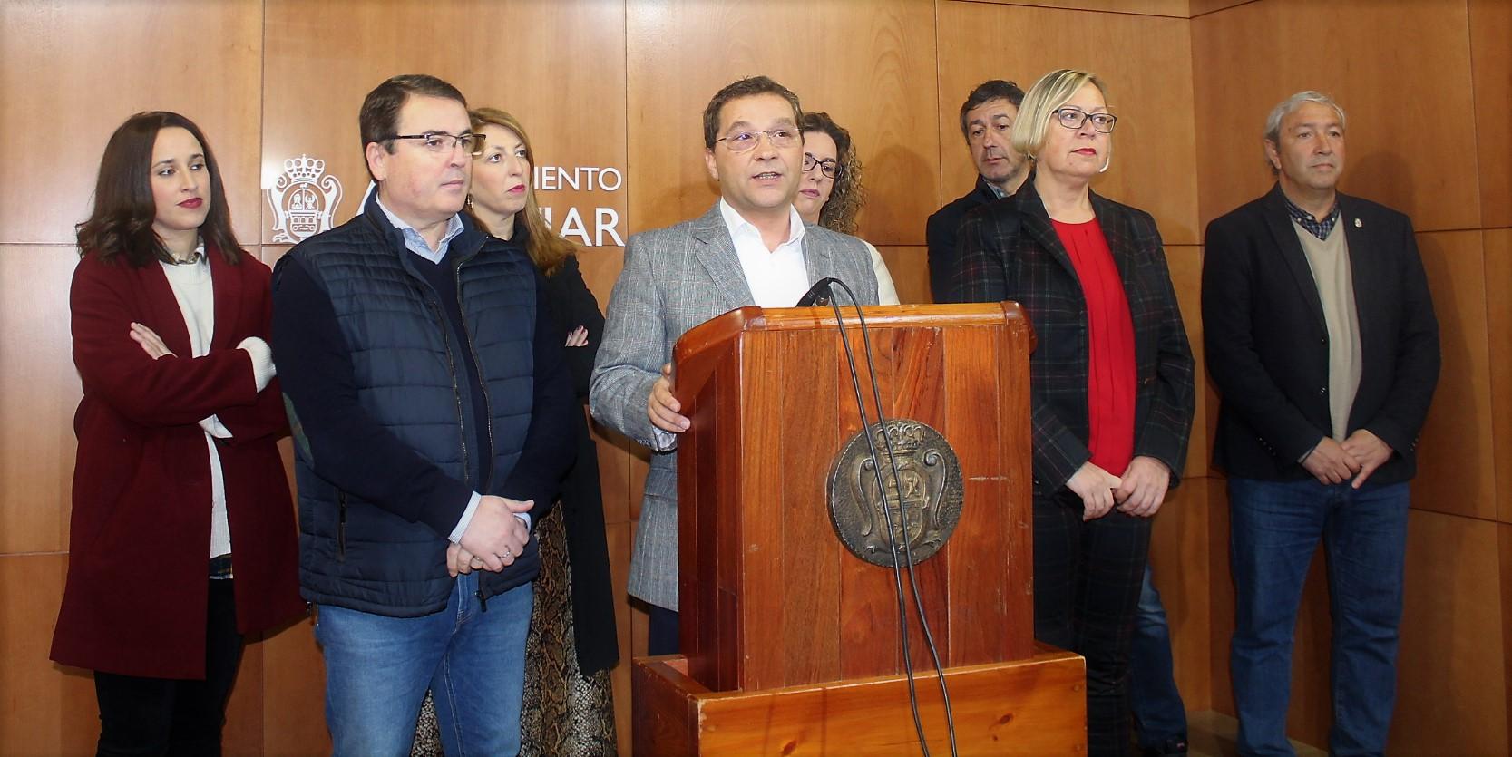 El alcalde reasigna las áreas municipales tras la marcha del gobierno de Salas y del Moral