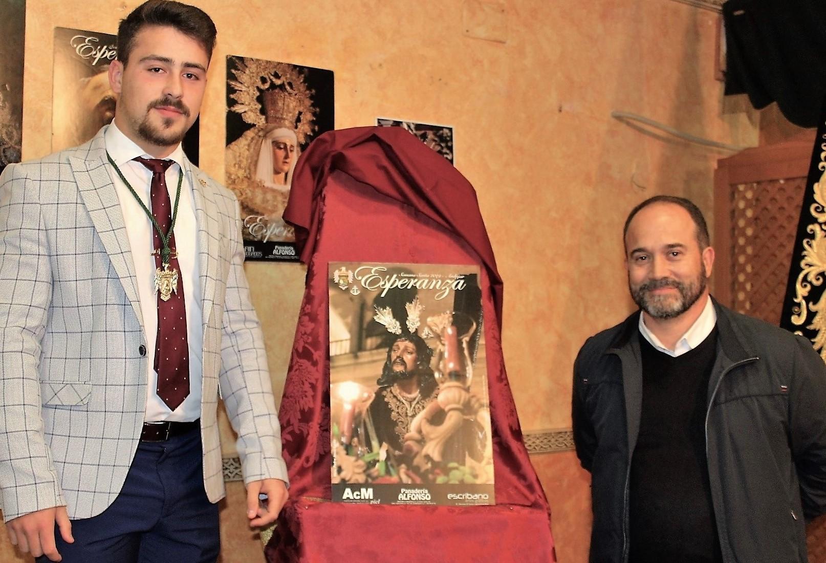 Carlos Ángel Gálvez realiza el cartel de la Esperanza para la Semana Santa