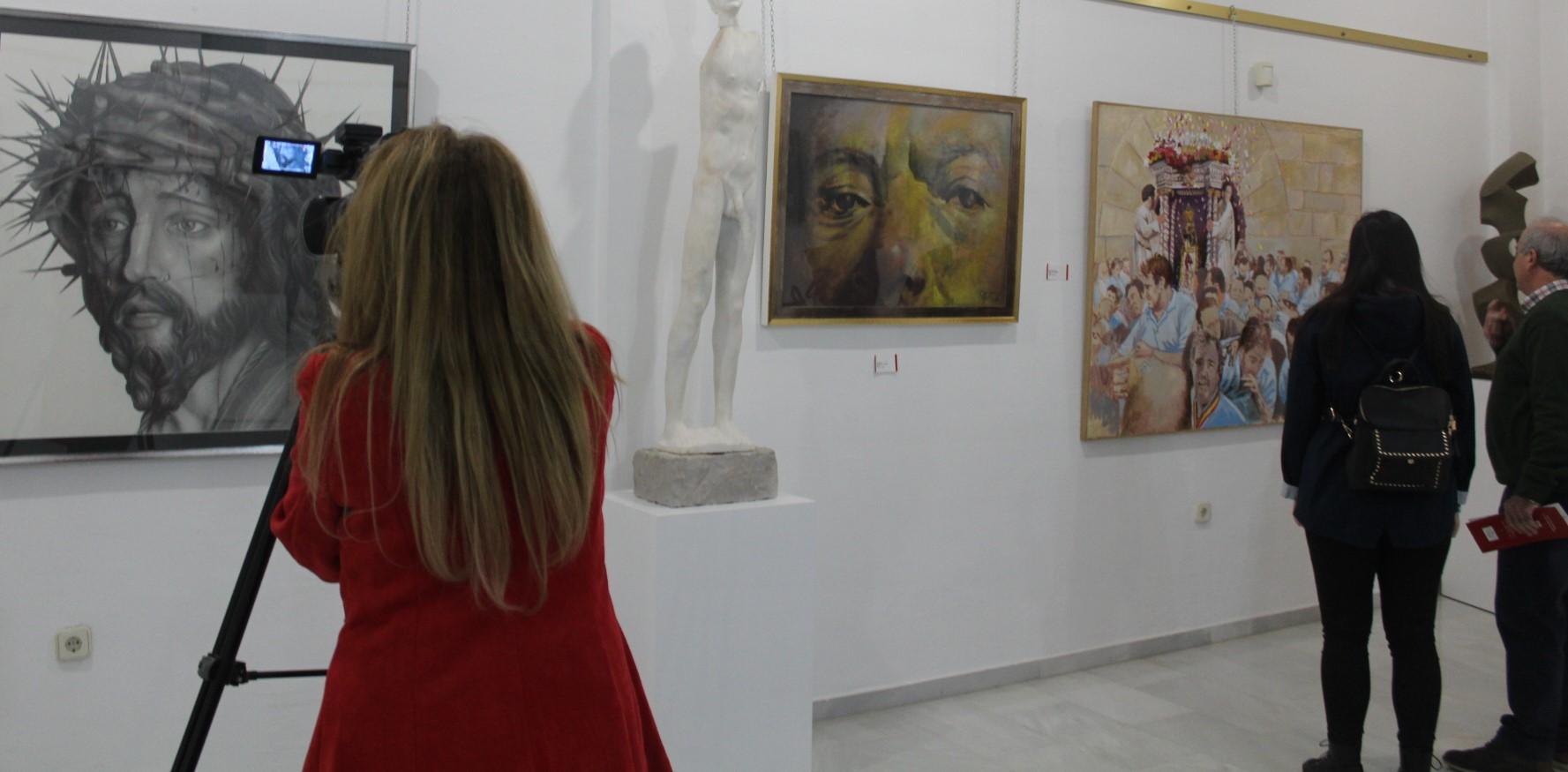 Una exposición ensalza el talento creativo de la tierra andujareña