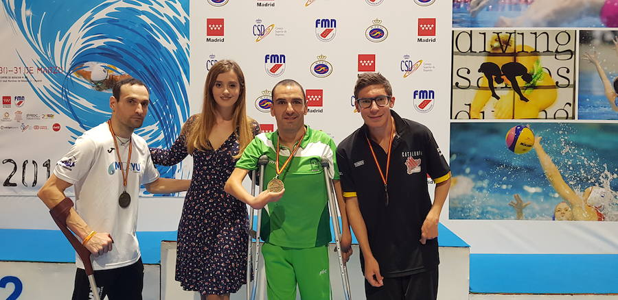 Miguel Ángel Martínez Tajuelo se clasifica para los Campeonatos del Mundo de Para-Natación 2019
