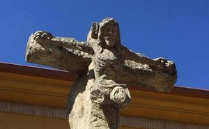 El Crucificado del Altozano Santiago de Andújar sufre un nuevo acto vandálico