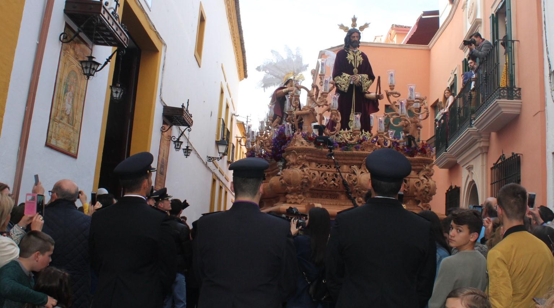 Sentencia «injusta» y llanto en Andújar en un Jueves Santo de contrastes en el tiempo y en el ánimo cofrades