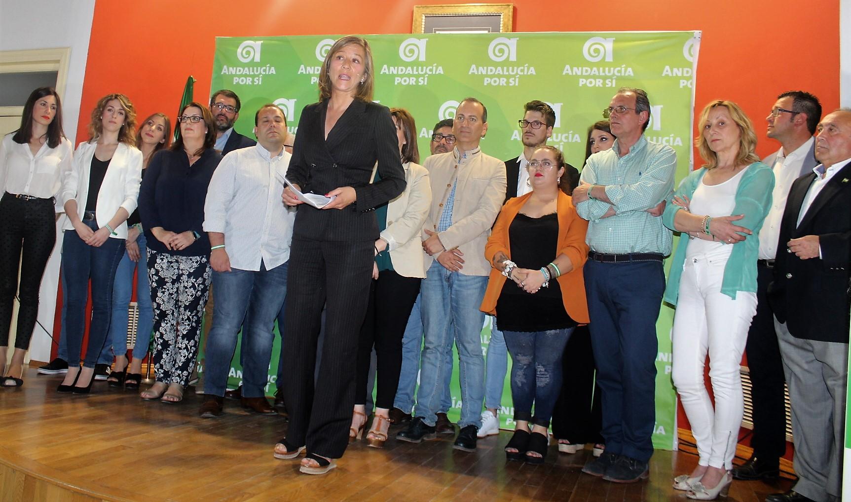 Andalucía por Sí conforma una candidatura para gobernar en la ciudad