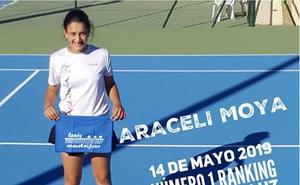 La tenista andujareña Araceli Moya es la mejor tenista alevín de Andalucía