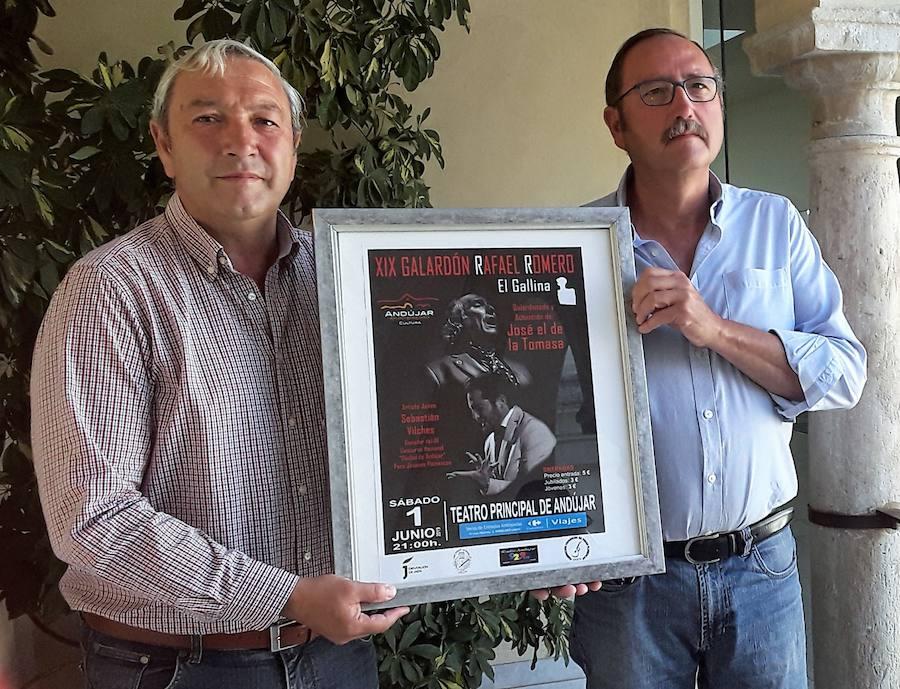 Un brillante programa precederá a la entrega del galardón Rafael Romero en Andújar