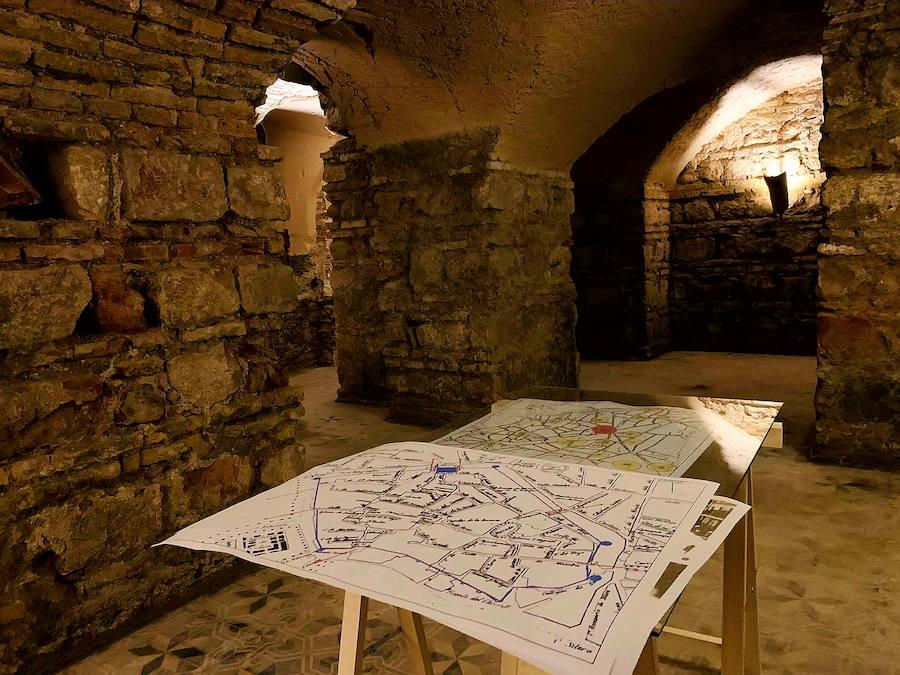 Unas galerías subterráneas encontradas debajo del antiguo castillo de Andújar encierran un enorme tesoro histórico