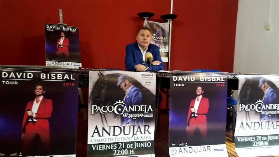Paco Candela y David Bisbal actuarán en el patio de la SAFA el próximo mes de junio