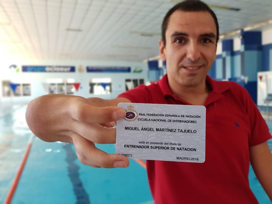 Miguel Ángel Martínez Tajuelo ya es titulado superior de natación