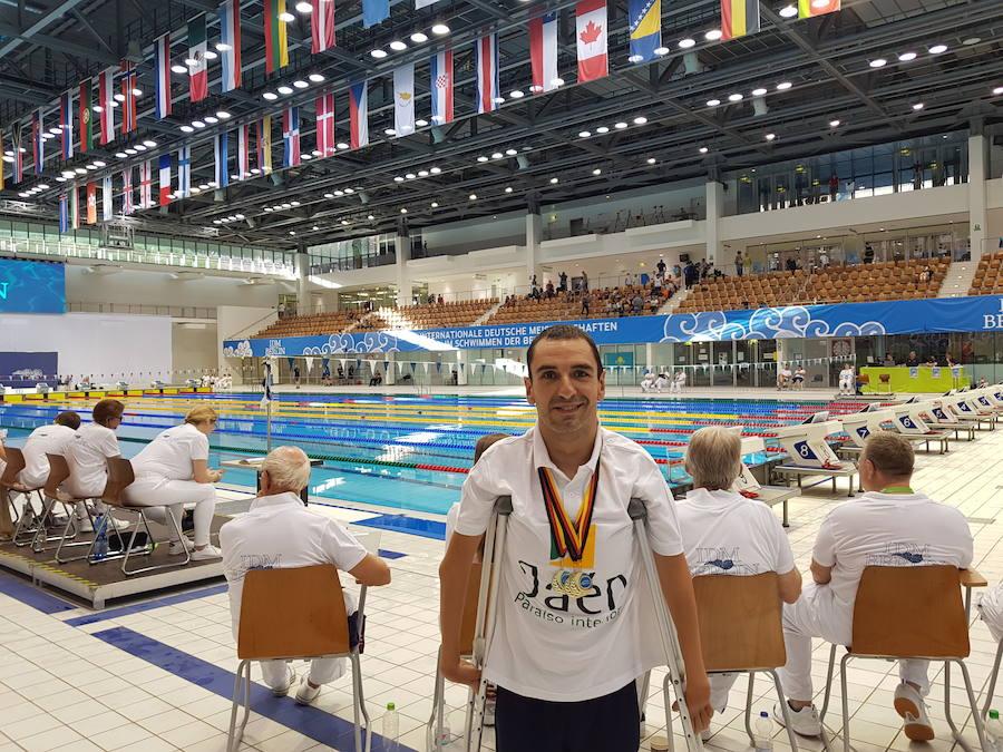 Miguel Ángel Martínez Tajuelo gana tres medallas de oro en el Open Mundial de Berlín