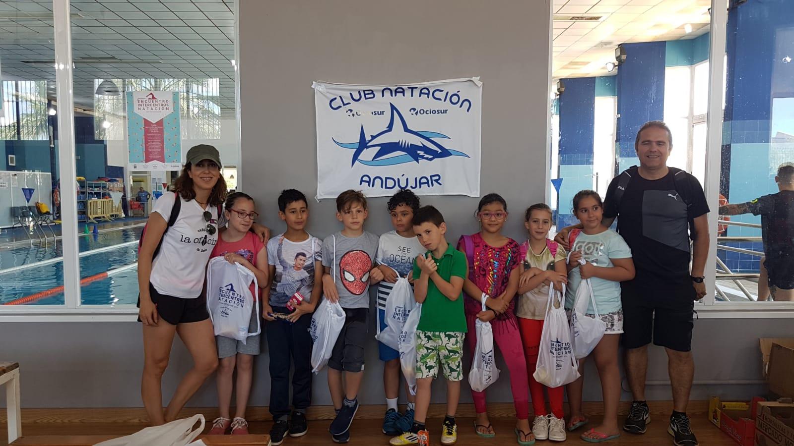 Gran respuesta en Andújar al I Torneo de Natación Intercentros