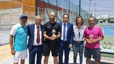 Carlos Jurado y Antonio Lallena se proclaman campeones del IV Torneo Social de Tenis de Dobles