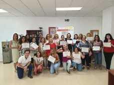 Cruz Roja forma a 26 mujeres en la atención a la Ley de la Dependencia