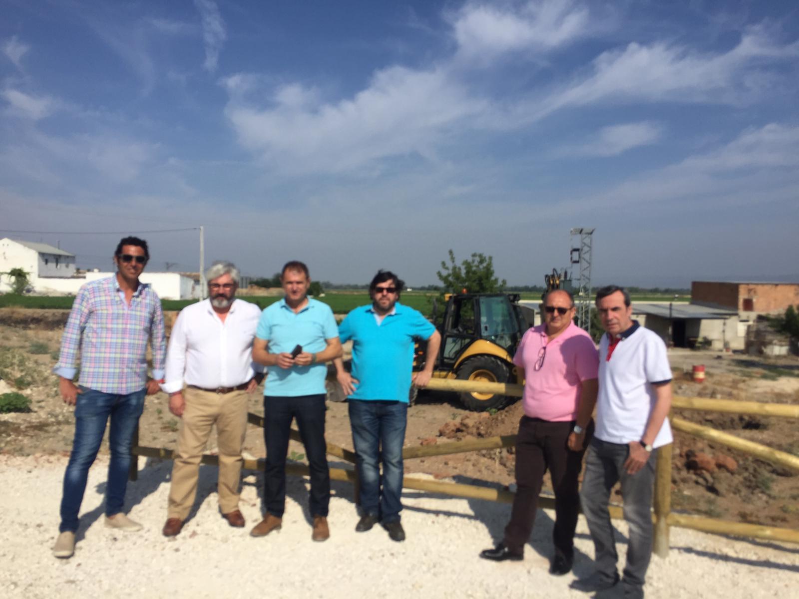 Diputación inicia las obras para mejorar la evacuación de aguas residuales de Villanueva de la Reina