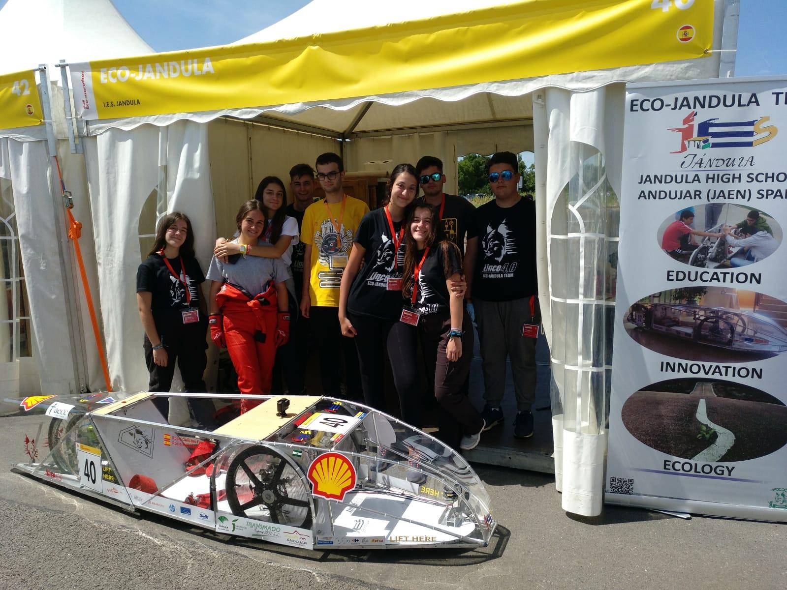 El vehículo Lince 4.0 vuelve a maravillar en la Shell Eco Marathon