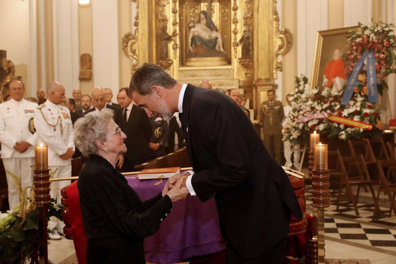 Felipe VI asiste al funeral del cardenal Estepa, natural de Andújar
