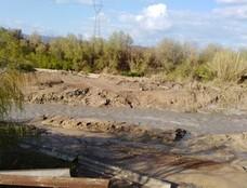 La presa de Valtodano, cada vez en peor estado
