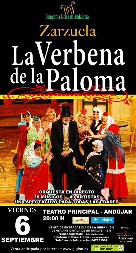 Llega a la Feria 'La Verbena de la Paloma' a cargo de la Compañía Lírica de Andalucía