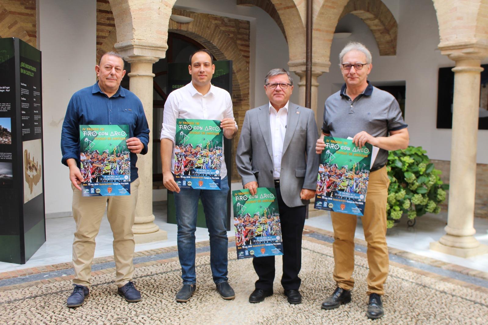 La SAFA de Andújar acoge la cuarta edición del Campeonato de Tiro Con Arco