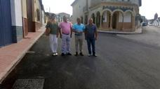 Diputación financia con cerca de 37.000 euros la mejora de la calle Virgen de la Cruz de Cazalilla
