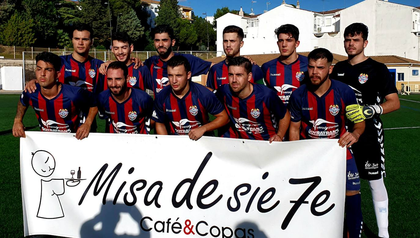 El Iliturgi apabulla al Castellar Íbero (6-0) tras redondear una excelsa segunda mitad